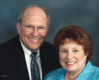 Dr. William Hughes with his wife