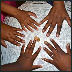 Hand Ceremony with Children