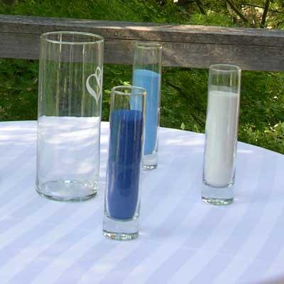 Sand Ceremony Vases