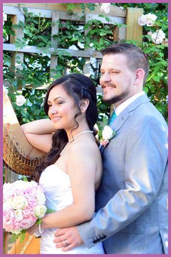 Wedding couple DFW metroplex